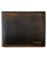 Fossil - Wade Leather Wallet - - Lyst