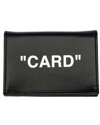 Off-White c/o Virgil Abloh - Small Quotes Flap Card Case - Lyst