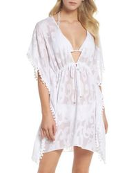 Lilly Pulitzer | Lilly Pulitzer Gardenia Cover-up | Lyst