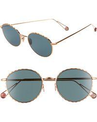 Ahlem - Place De L'alma 54mm Round Sunglasses - - Lyst
