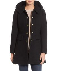 Guess - 'mod' Hooded Jacket (regular & Petite) - Lyst