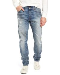 True Religion - Logan Slim Straight Fit Jeans - Lyst