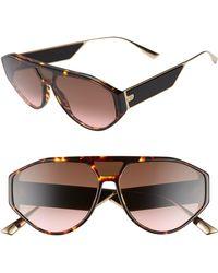 35627967e9 Lyst - Dior Christian 57mm Sunglasses - Navy  Blue Tortoise in Blue