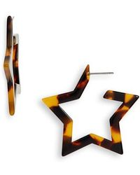 Shashi - Star Earrings - Lyst