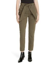 La Vie Rebecca Taylor - Patrice Tapered Ankle Pants - Lyst