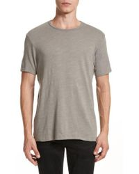 Rag & Bone - Standard Issue Slubbed Cotton T-shirt - Lyst