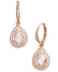 Nadri | Pear Drop Earrings (nordstrom Exclusive) | Lyst