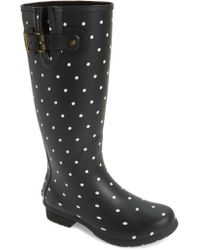 c280c4f5ac3c Lyst - Vince Camuto Hinch Rubber Rain Booties in Black