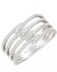 Bony Levy - Kiera Four-row Diamond Ring (nordstrom Exclusive) - Lyst
