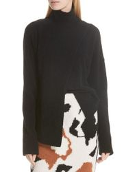 Christian Wijnants - Asymmetrical High Neck Sweater - Lyst