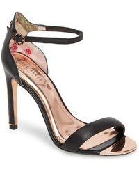 Ted Baker - Sharlot Ankle Strap Sandal - Lyst