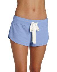 Eberjey - Heather Knit Shorts - Lyst