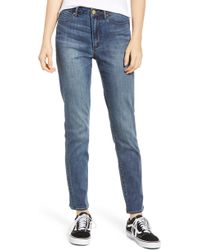 Articles of Society - Rene High Waist Straight Leg Jeans - Lyst