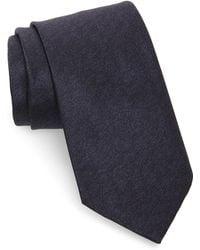 Brioni - Solid Silk Tie - Lyst