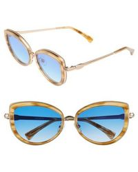 Wildfox - Clubhouse 54mm Mirrored Sunglasses - Antique Gold - Lyst
