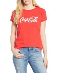 Lucky Brand - Coca Cola Classic T-shirt - Lyst