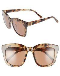 Chelsea28 - Kiri 52mm Sunglasses - Java- Gold - Lyst