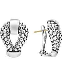 Lagos - Derby Caviar Stud Earrings - Lyst