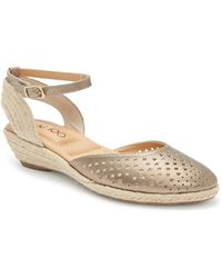 7f25f6878fa Me Too Nissa Espadrille Wedge in Natural - Lyst