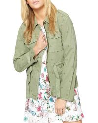 Sanctuary - With Honor Stretch Cotton Jacket - Lyst