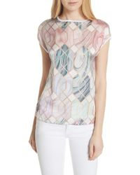 Ted Baker - Relli Sea Of Clouds Tee - Lyst