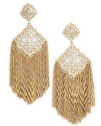 Kendra Scott - Kimora Fringe Drop Earrings - Lyst