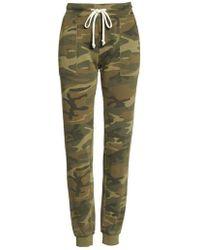Alternative Apparel - Long Weekend Camo Lounge Pants - Lyst