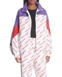 Opening Ceremony - Print Nylon Warm-up Jacket - Lyst