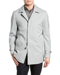 Cardinal Of Canada - Kinsley Stretch Wool Blend Topcoat - Lyst