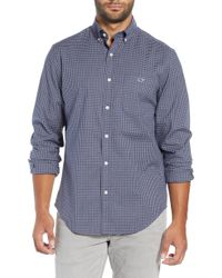 Vineyard Vines - Pin Oak Tucker Classic Fit Sport Shirt - Lyst