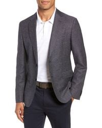 BOSS - Nobis Trim Fit Stripe Wool Blend Sport Coat - Lyst