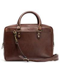 Rodd & Gunn - New Roxburgh Leather Briefcase - Lyst