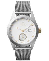Triwa | Aska Mesh Strap Watch | Lyst