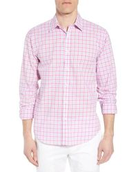 Jeremy Argyle Nyc - Slim Fit Grid Sport Shirt - Lyst
