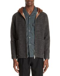 Tomorrowland - Hooded Cardigan - Lyst