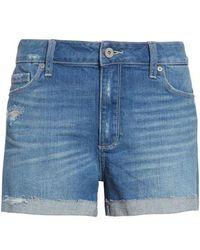 PAIGE - Jimmy Jimmy Cutoff Denim Shorts - Lyst