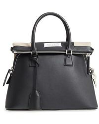 Maison Margiela - Medium 5ac Leather Handbag - - Lyst