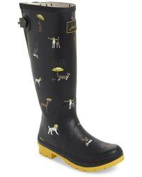 Joules - Print Rain Boot - Lyst