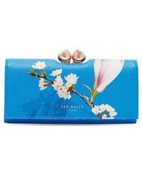 Ted Baker - Caryl Harmony Leather Matinee Wallet - Lyst