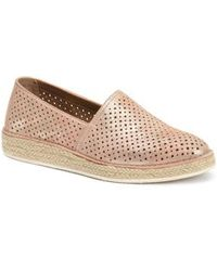Trask | Paige Perforated Flat | Lyst