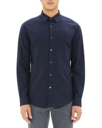 Theory - Murrary Ice Trim Fit Sport Shirt - Lyst