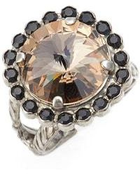 Sorrelli - Haute Halo Cocktail Ring - Lyst