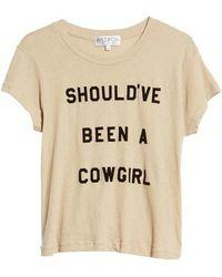 Wildfox - Cowgirl Tee - Lyst
