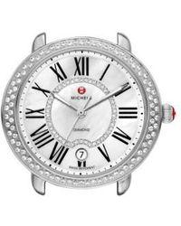 Michele - Serein 16 Diamond Watch Case - Lyst