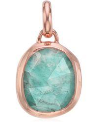 Monica Vinader | Siren Semiprecious Stone Pendant | Lyst