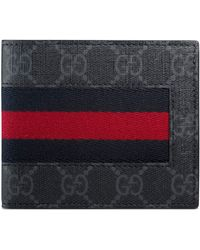 074a92382e2a Gucci Avel Wallet in Black for Men - Lyst