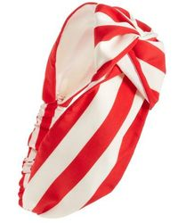 Cara - Oversize Stripe Head Wrap - Lyst