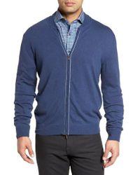 Bugatchi - Zip Sweater - Lyst