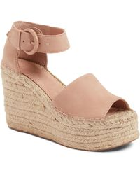 Marc Fisher - Alida Espadrille Platform Wedge - Lyst