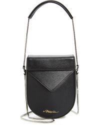 3.1 Phillip Lim - Mini Soleil Chain Strap Leather Shoulder Bag - Lyst